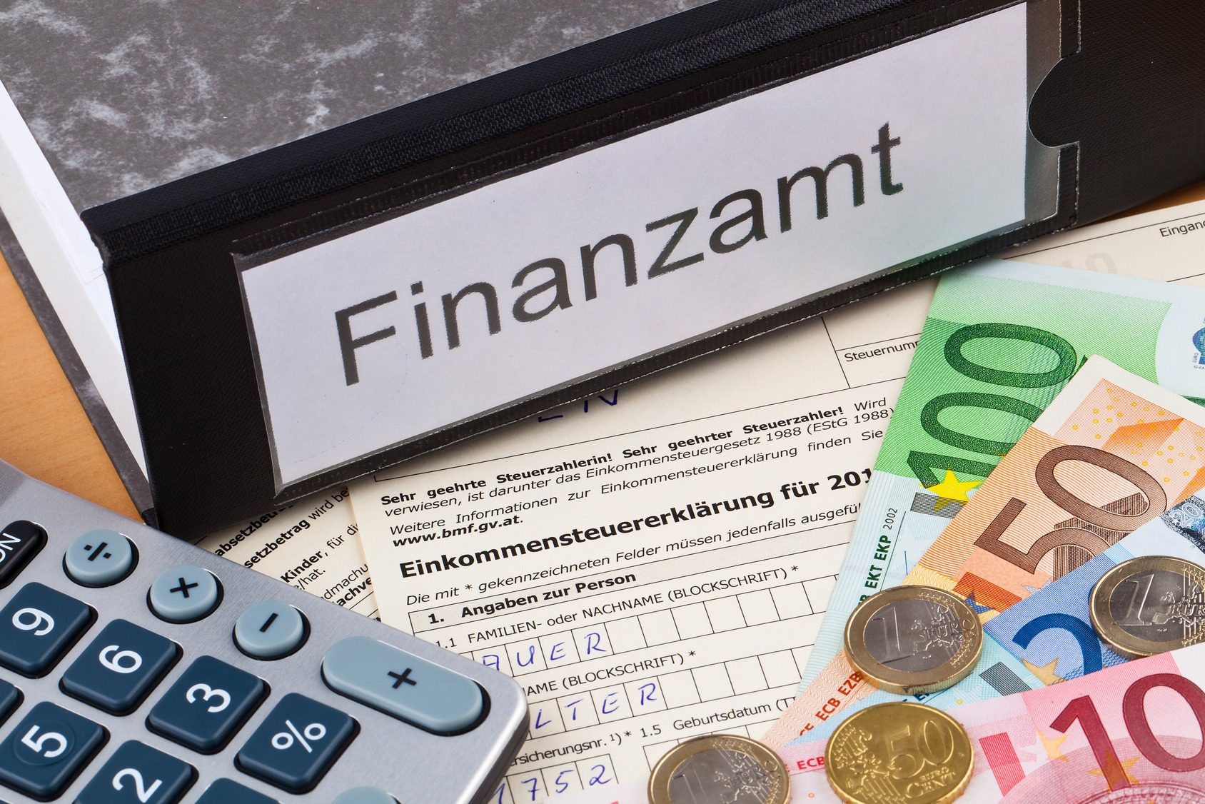 Musterbriefe Finanzamt